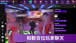 Avakin Life – 3D Virtual World软件截图0