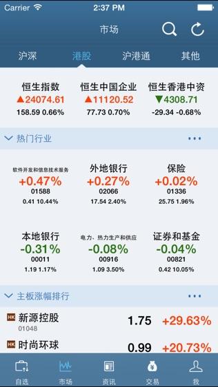 中金香港证券