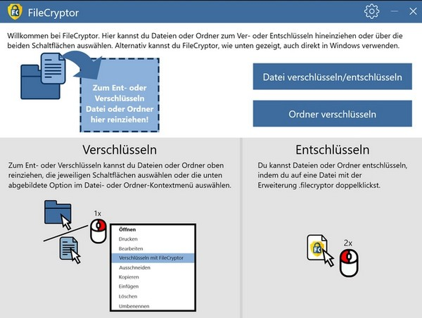 Abelssoft FileCryptor(文件夹加密软件)