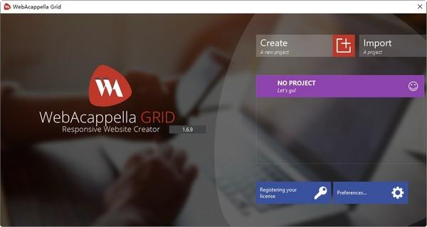 WebAcappella Grid(网页布局设计软件)