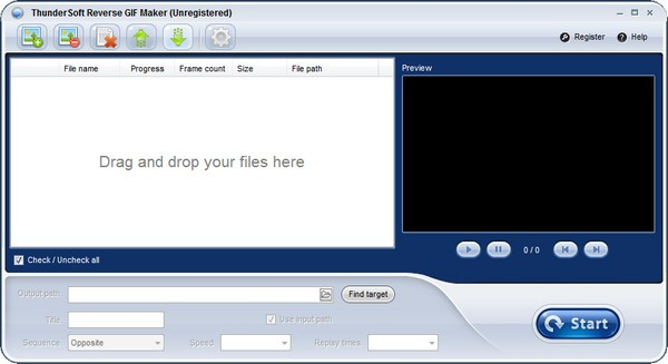 ThunderSoft Reverse GIF Maker(gif分解器)下载