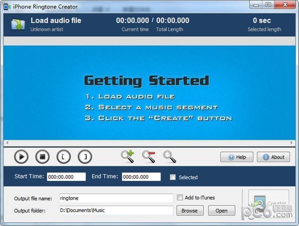 iPhone Ringtone Creator(iPhone铃声制作工具)下载