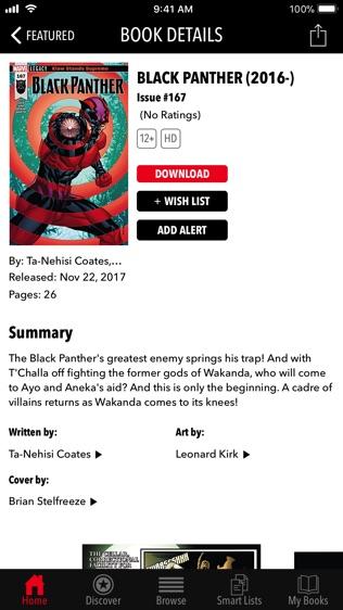 Marvel Comics软件截图2