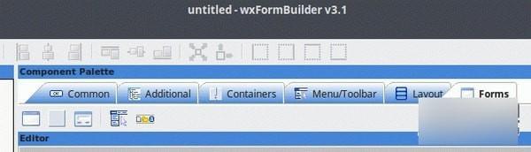 wxFormBuilder