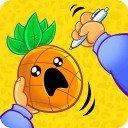 笔菠萝苹果笔