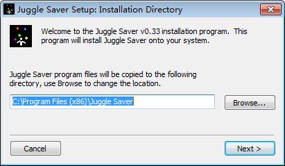 Juggle Saver(屏幕保护程序)