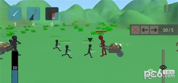 火柴人城堡战争软件截图2