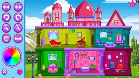 公主玩偶城堡软件截图2