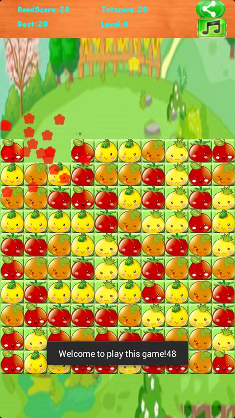 开心水果消消看软件截图0