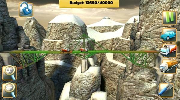 桥梁构造者完整版软件截图0
