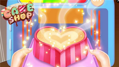儿童烹饪蛋糕店软件截图3