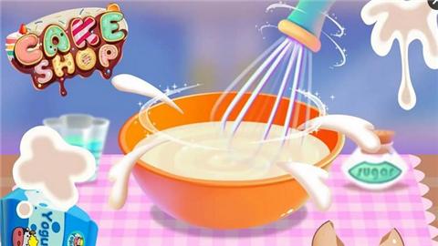 儿童烹饪蛋糕店软件截图1