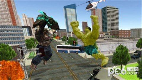 绿巨人城市突袭软件截图0