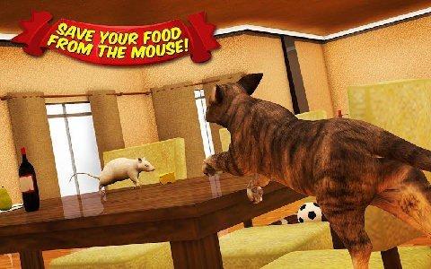 愤怒的猫和老鼠软件截图0
