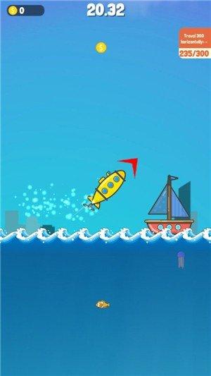 潜艇跳一跳