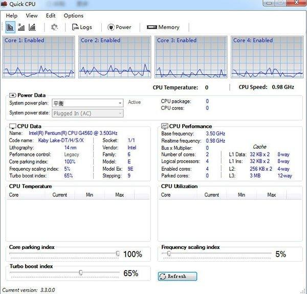 Quick CPU(CPU性能优化软件)