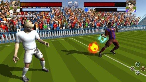 足球选手大战