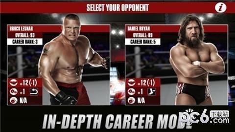 WWE2K摔跤软件截图2