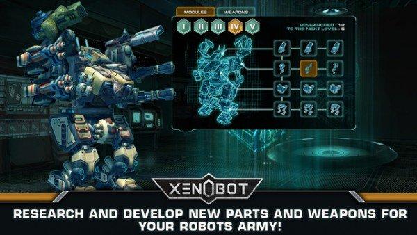 机甲战争Xenobot