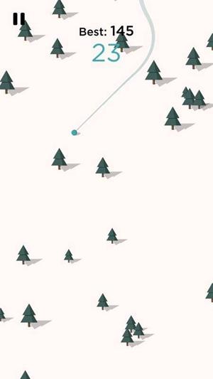 令人胆寒的滑雪