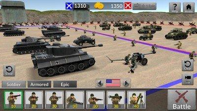 二战坦克对轰软件截图1