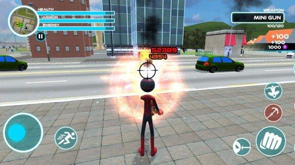 蜘蛛火柴人软件截图1