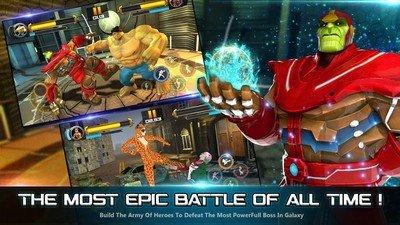 超级英雄战斗无限之战软件截图1