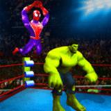 超级英雄摔跤竞技场