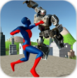 蜘蛛侠大战机器人