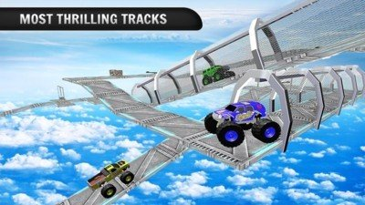 4X4怪物卡车爬山软件截图1