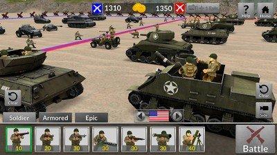 二战坦克对轰软件截图3