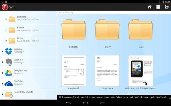 TextMaker HD软件截图3