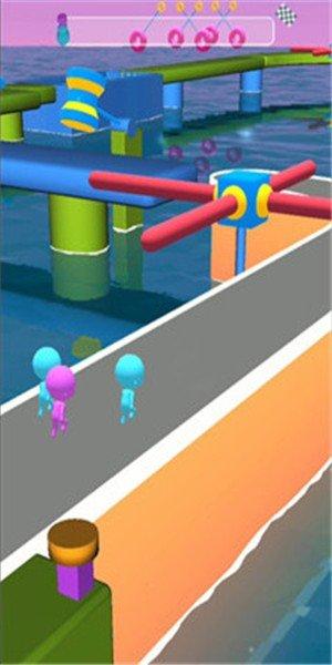 玩具赛跑3D软件截图1