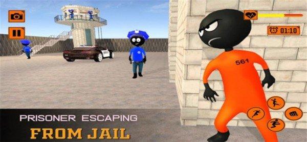 火柴人逃脱越狱软件截图1