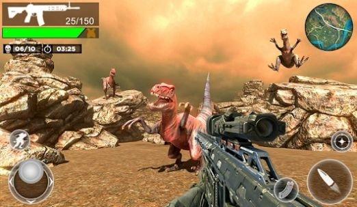 FPS侏罗纪恐龙猎人
