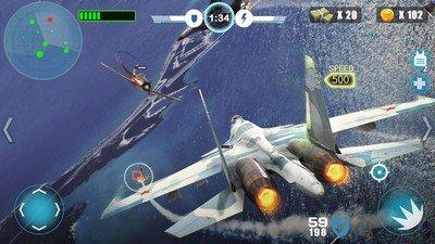 空中战争之雷霆射击软件截图2