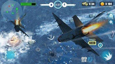 空中战争之雷霆射击软件截图0