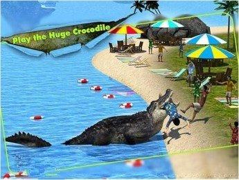 3D鳄鱼模拟软件截图3