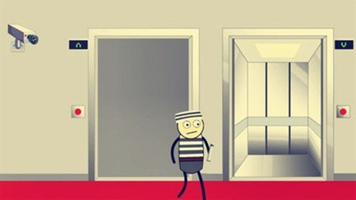 火柴人逃离电梯软件截图1