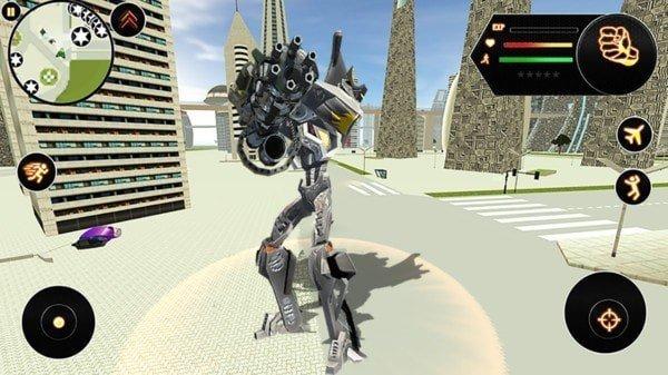 超级变形机器人大战