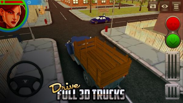 美国大卡车狂奔