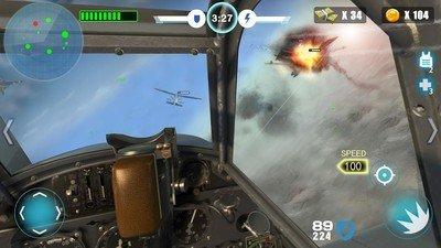 空中战争之雷霆射击软件截图1