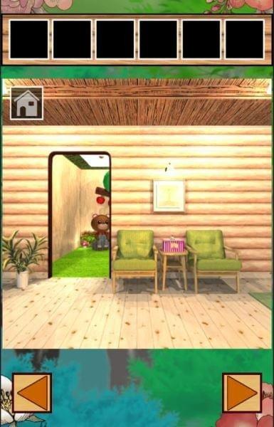 逃脱游戏森林里的小熊屋软件截图2