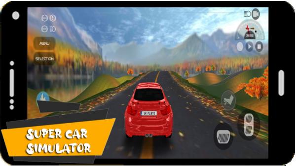 超级汽车现代模拟器软件截图2