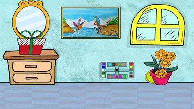 彩色房间逃脱软件截图2