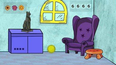 彩色房间逃脱软件截图0