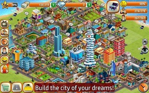 模拟岛屿城市建设软件截图0