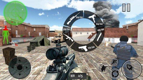 真实封面射击突击队软件截图1