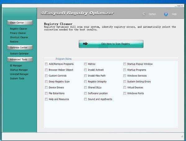 4Easysoft Registry Cleaner(<a href=