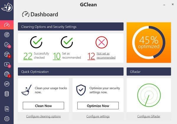 Abelssoft GClean(系统清理软件)